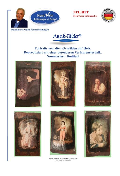 Antike Holzbilder